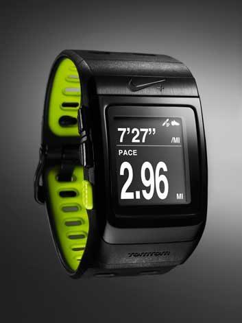 4. Chronomètre et GPS Nike+