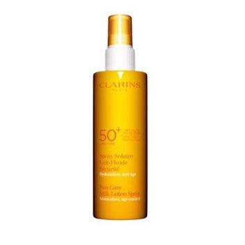 2. Spray solaire sécurité FPS 50 + de Clarins
