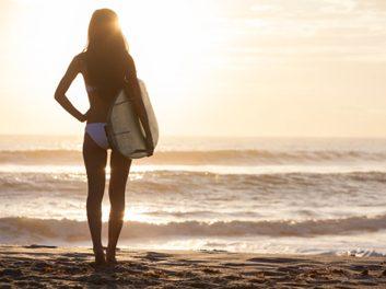 Les plaisirs du surf