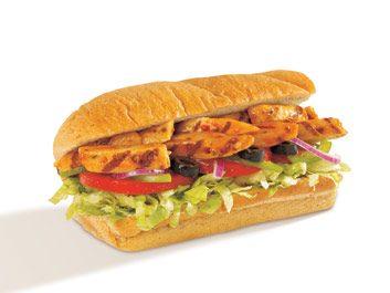 Troquez le gras contre la saveur chez Subway