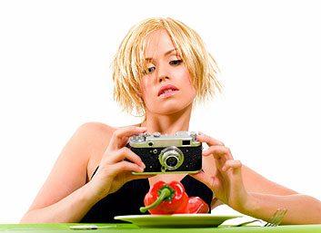 4. Prenez une photo de ce que vous allez manger.