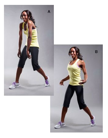 2. Roulement d'épaules dynamique