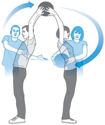 Semaines 1 et 2: Passes dos à dos et en rotation de côté