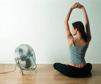 Utilisez un climatiseur