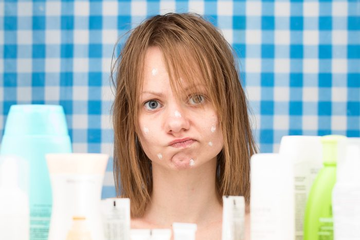Problème de peau : peau grasse et sujette à l'acné