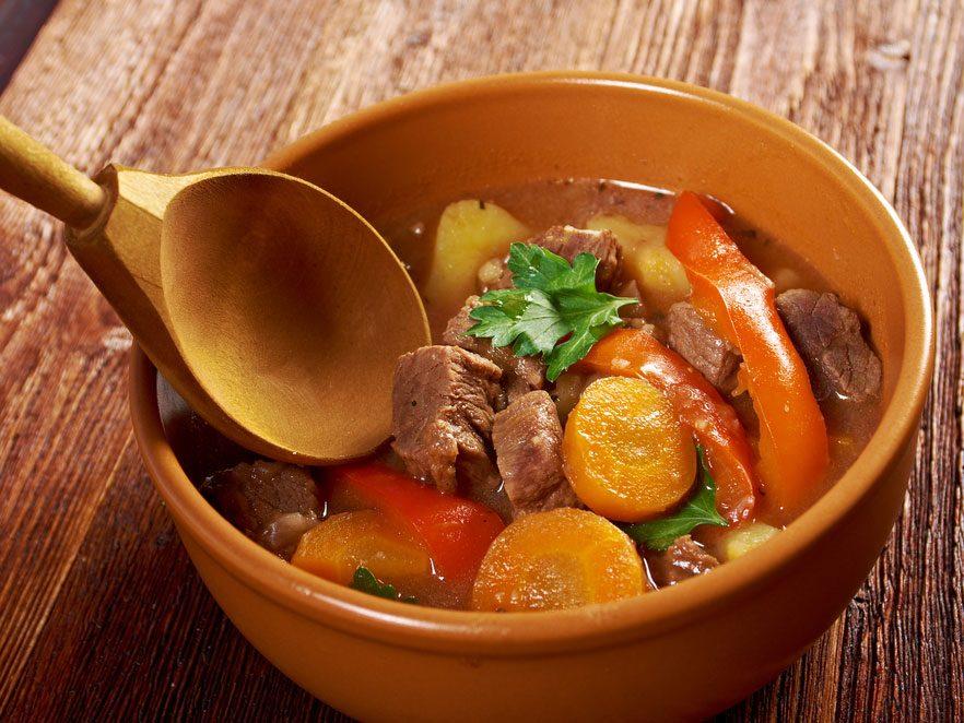 Comblez les plats avec des légumes