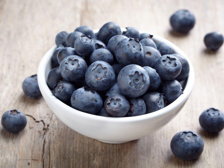 Collation à moins de 100 calories : bleuets