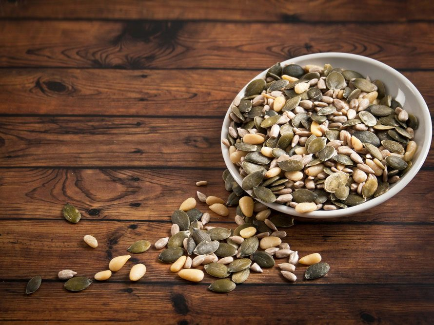 Collation à moins de 100 calories : graines de tournesol
