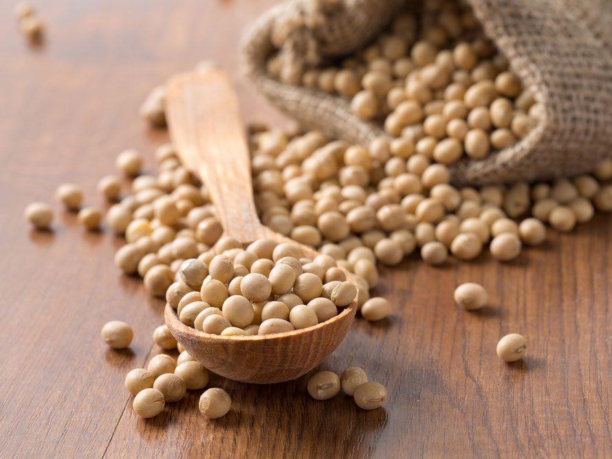 Collation à moins de 100 calories : noix de soya
