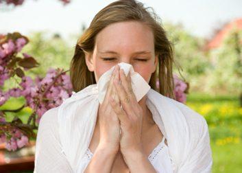 Si ce sont des allergies: