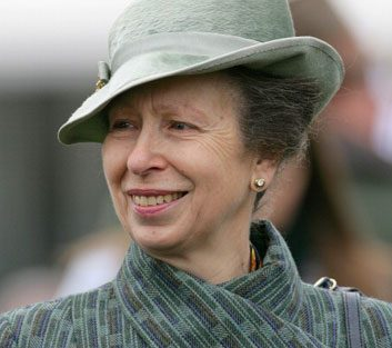 La princesse Anne
