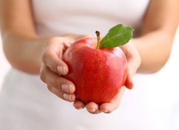 Pomme à la cannelle et aux noix