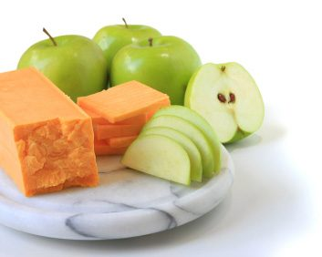 Pomme et fromage