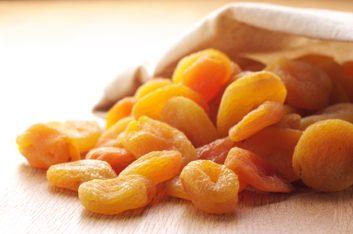 4. Abricots séchés
