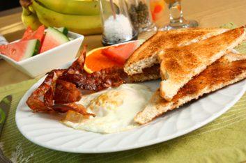 Œufs et bacon
