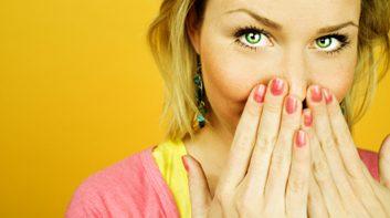 6. Si vous avez mauvaise haleine...