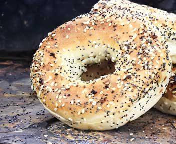 2.Problème: Je prends mon déjeuner au travail, et là, il n'y a que des bagels et des muffins.