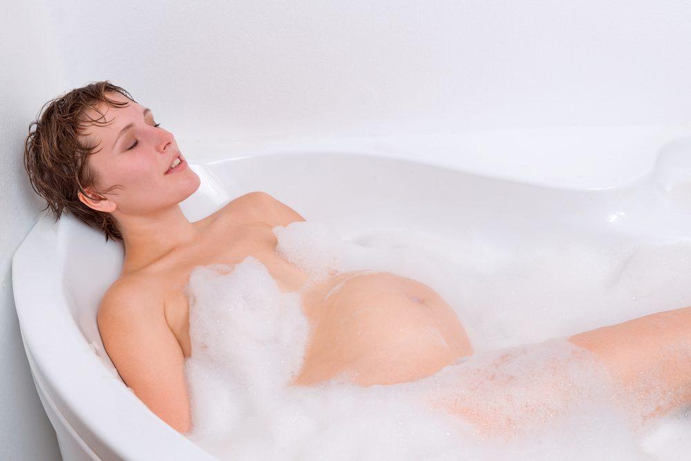 9. Sortez les jouets pour le bain