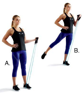 2. Flexions des biceps en balancier: 1 minute