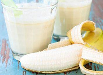 6. Un lait frappé à la banane