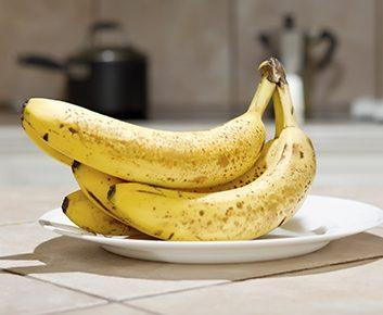 La banane devient plus sucrée avec le temps