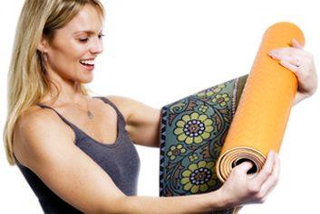 Un tapis de yoga personnalisé
