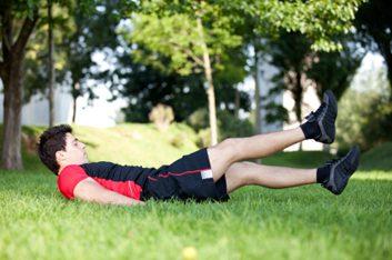 4. Battement de jambes