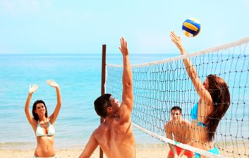 Volley-ball de plage