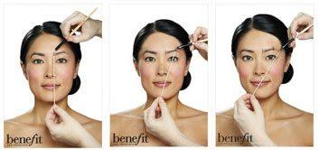 1. Façonnez vos sourcils