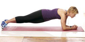 5. Rotation des hanches en position de planche