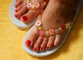 4. Sandales de massage