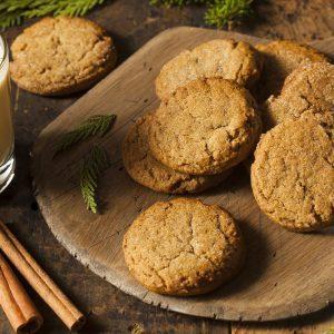 Recette facile: biscuits à la mélasse et au gingembre