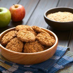 Recette de biscuits croquants aux pommes et au muesli