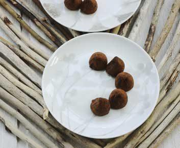 Boules ChocoMaca