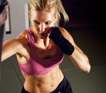 1. La boxe peut vous faire maigrir.