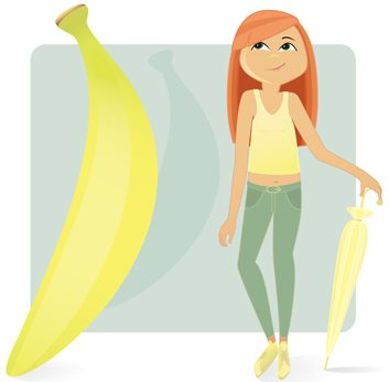Vous êtes une banane si:
