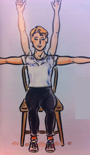 Exercice no. 1: Bras levés