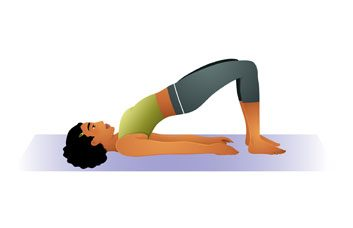 7. Pratiquez certaines postures de yoga.