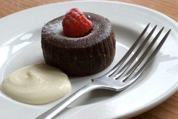 Brownies choco-framboise