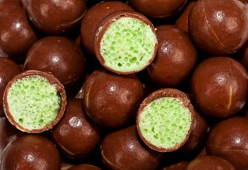 Chocolat à bulles