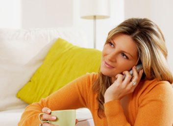 2. Pour combattre le stress, appelez votre mère