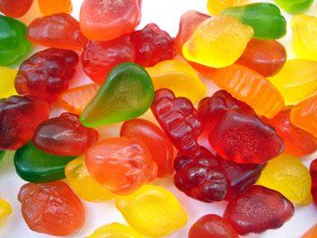 Délit: collations réputées sans gras, tels que réglisse et jujubes