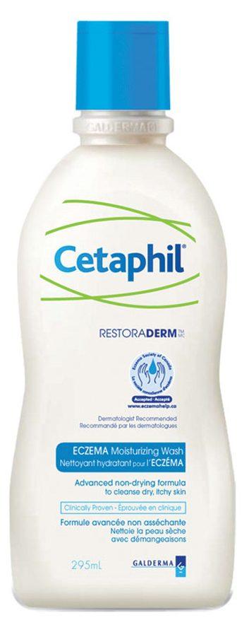 Nettoyant hydratant pour l'eczéma de Cetaphil