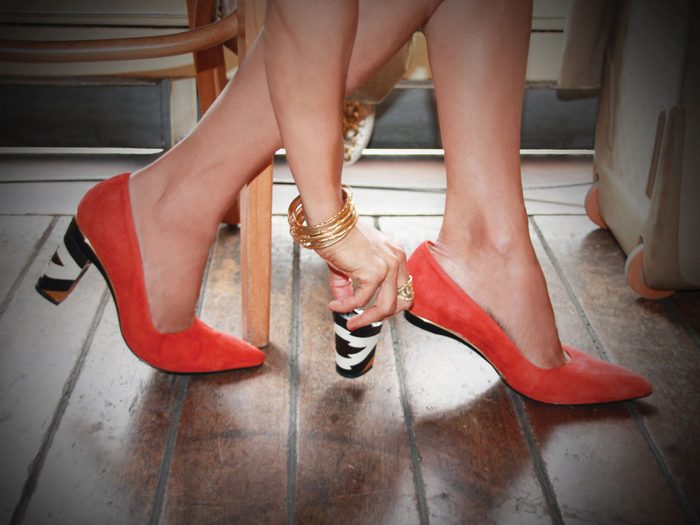 Des chaussures innovantes