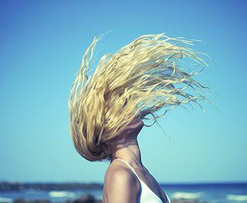 Laissez vos cheveux lâchés
