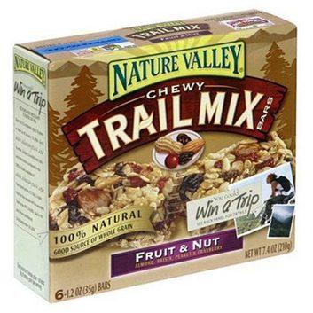 Barres Trail Mix de Nature Valley (fruits et noix)