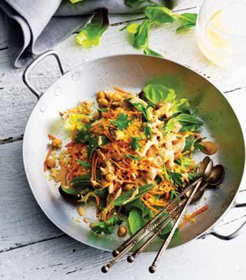 Salade de poulet à la marocaine