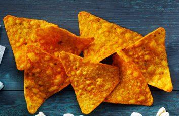 Croustilles tortilla au fromage nacho