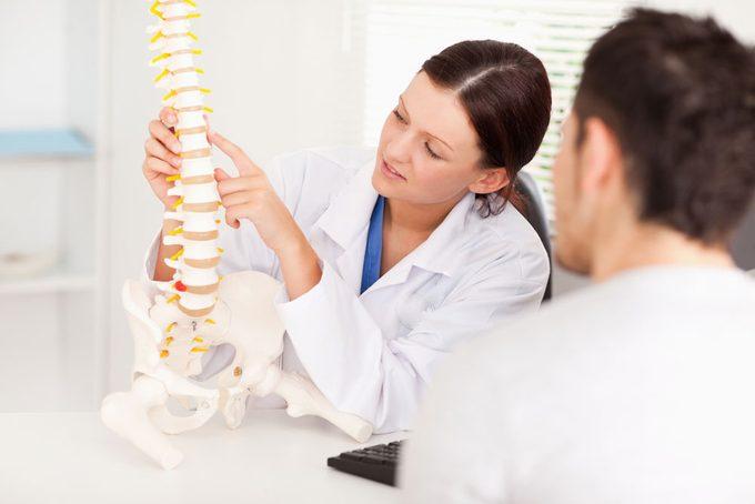 Le chiropraticien à la rescousse des blessures sportives