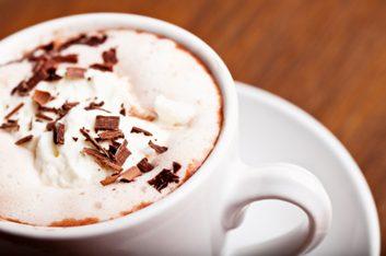 Mélange à chocolat chaud